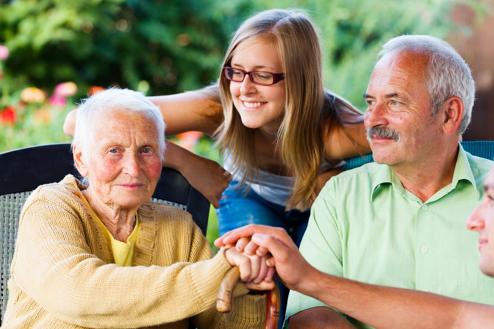 senior opieka choroba